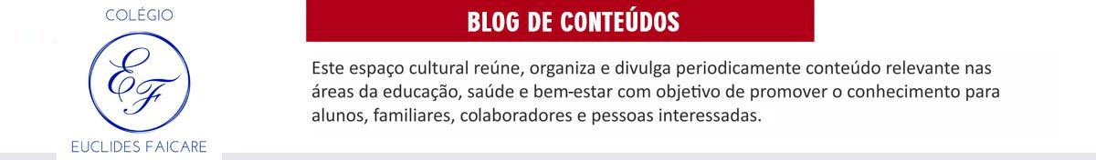 Blog Colégio Euclides Faicare